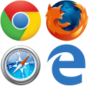 web browsers transparent